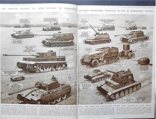 1944 german tanks