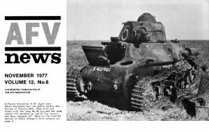 AFV News 1977