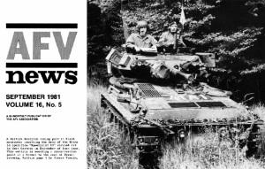 AFV News 1981