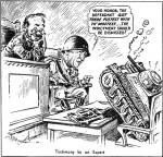 patton tank cartoon