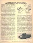 2 Fighting Vehicle Concept Designs Nov Dec 1982