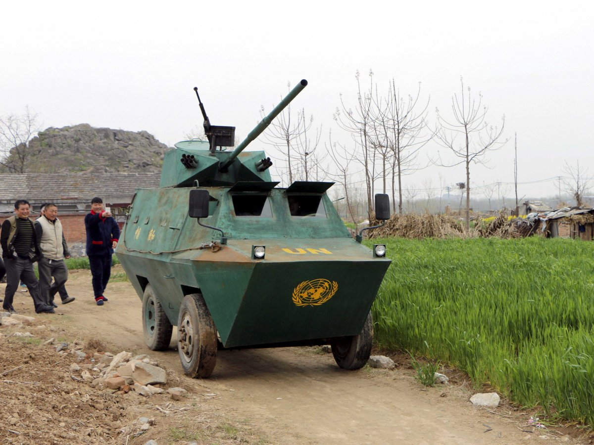 Home Made Armored Vehicles Of China Tank And Afv News