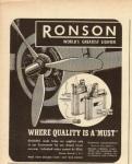 ronson ad 1944