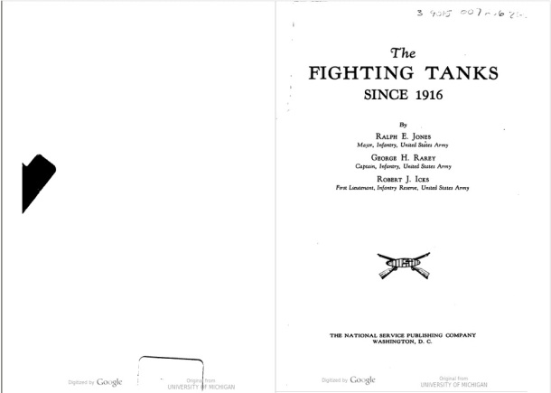 fighting tanks since 1916