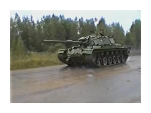Magach_Captured from IDF_Driving in Russia_1