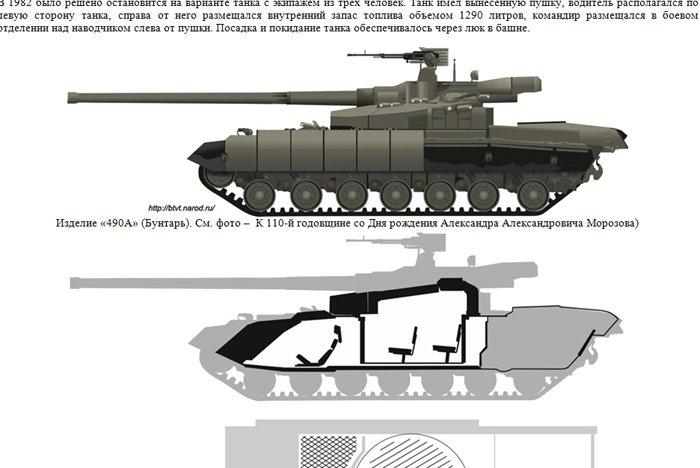 "More photos of 80's era Soviet ""Buntar"" tank revealed ... Объект 477 Молот"