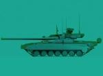 Object 490A size comparison to T-14 Armata