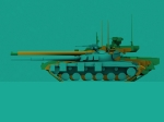 Object 490A size compared to T-64 and T-14 Armata