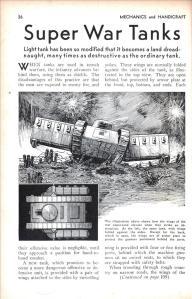 Super War Tanks (1936)