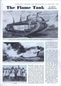 The Flame Tank (1936)