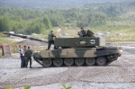 T-72 disguised as Leopard II?