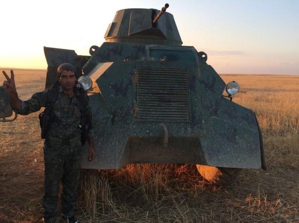 Improvised Armored car