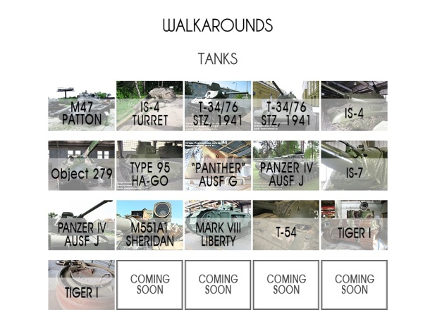 Walkaround tanks