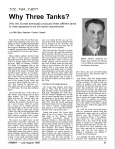 Why Three Tanks page 1