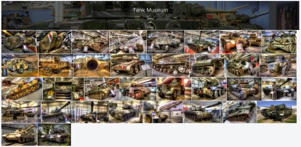 tank museum gallery