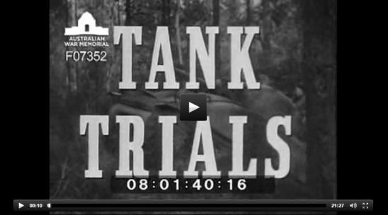tank trials video