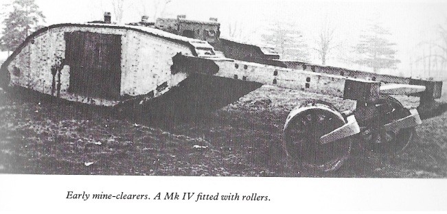 Mk IV with mine rollers