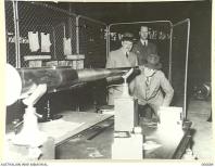 1941-04. AUSTRALIAN MADE 2 LB. ANTI-TANK GUNS AT THE MAJOR CO. ORDIN. CONTRACTORS