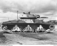 AN AUSTRALIAN CRUISER TANK MK III (AC3).