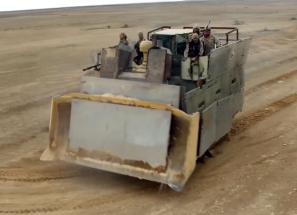 Armored bulldozer 2