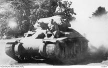 Australia. c 1942. An Australian AC1 Sentinel Cruiser Tank.