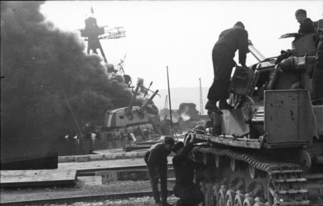 Toulon, Panzer IV