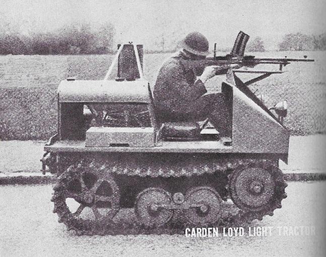 carden loyd light tractor