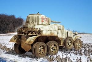 BA-10 armored car 1942