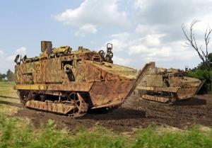 Char Schneider CA 1 Cantigny France 1918