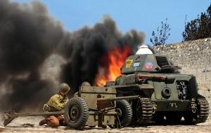 Darbys Rangers vs Italian R35 Gela Sicily July 1943