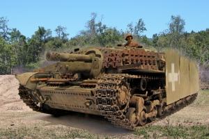 Hungarian Zrinyi assault gun 1945