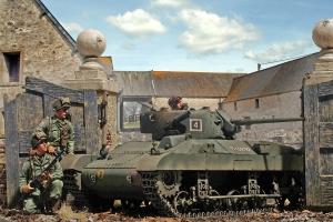 Locust Airborne Tank Operation Varsity 1945