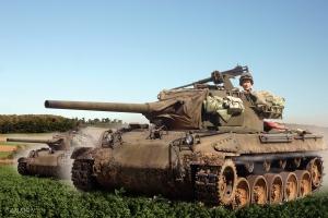 M18 76mm GMC 704th TD Battalion Arracourt Sep 1944
