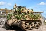 M4 8th Tank Bn 4th Armd Div France 1944
