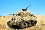 M4A1 1st Armd Div Tunisia 1943