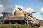 M4A1 2nd Armd Div Sicily 1943