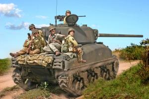 M4A1 76mm 2nd Armd Div Operation Cobra 1944