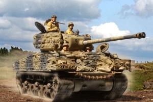 M4A3E8 14 Armd Div 1945