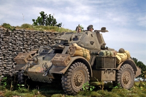 Staghound AC Canadian Army Netherlands 1944
