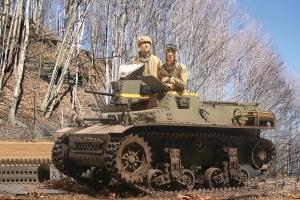 T16 light tank Attu Alaska 1942