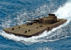 T6 Amphibious Tank 1945