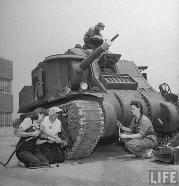 M3 lee with rosie the riveter.jpg