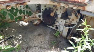 Interior of M50 turret