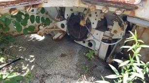 Interior of M50 turret