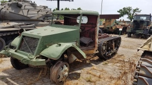 A rather unique halftrack