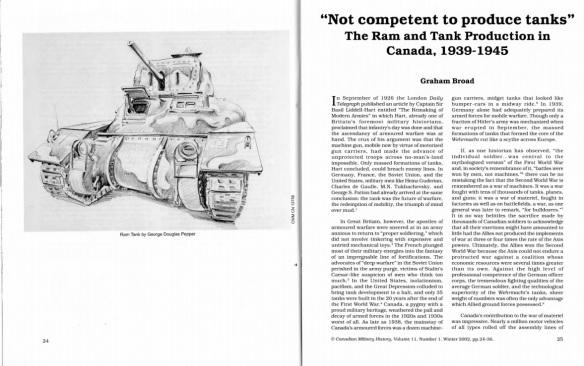 ram tank article