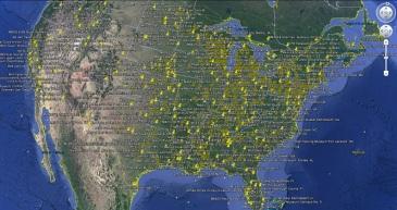 USA Google Earth