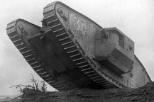 a-tank-breaking-through-the-wire-at-cambrai-france