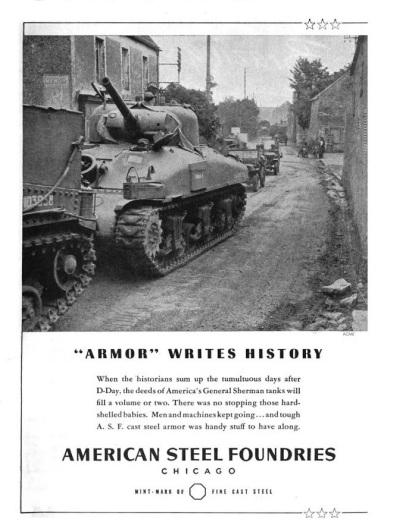 Armor writes history