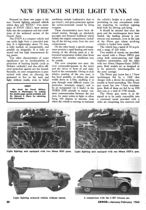 New French Super Light Tank page 1